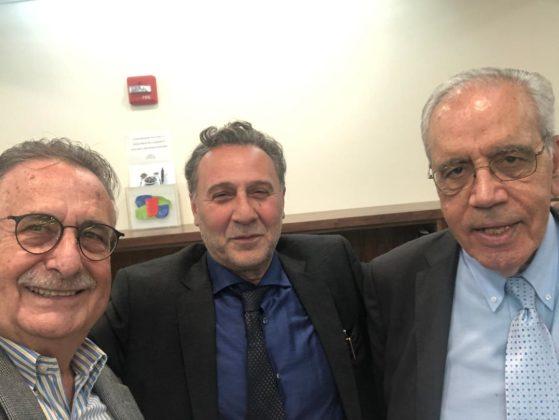 Emmanuel Velivasakis, Nicholas Alexiou and Georges Stassinakis