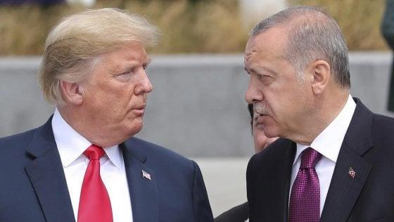 President Donald Trump and Turkey's elected Sultan Recep Tayyip Erdogan