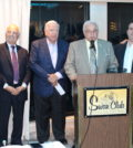 From left, Michael Georgis, Len Zangas, George Karatzas, Perry Cyprus, Peter Mesologitis