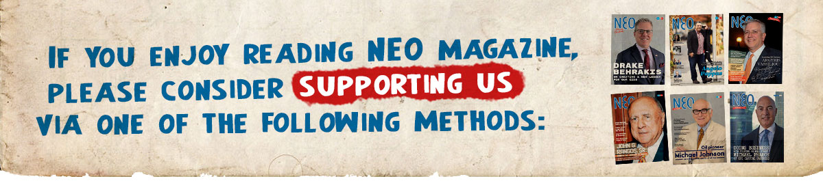 Subscribe to NEO magazine