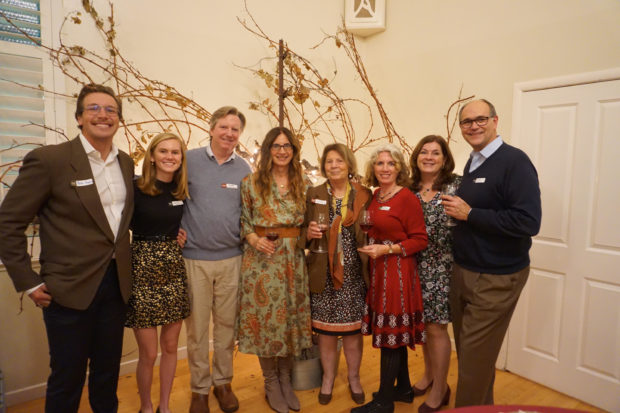 Three generations of the Fotinos Family at the recent 50th anniversary celebration. The family's matriarch, Vivian, pictured 4th from right, is at the center of it all.