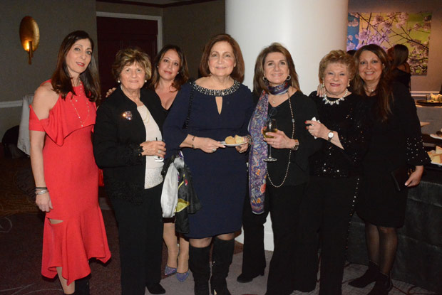 A group of ladies members of the WIN. Among them Soteroula Karakosta (second from left) and Niovi Philippou (right). PHOTO: ETA PRESS