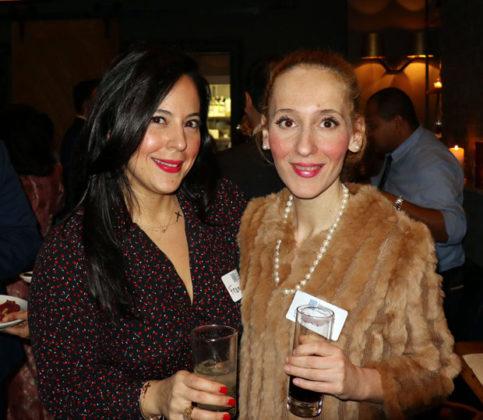 Eleni Belesis (right) with a friend. PHOTO: ETA PRESS