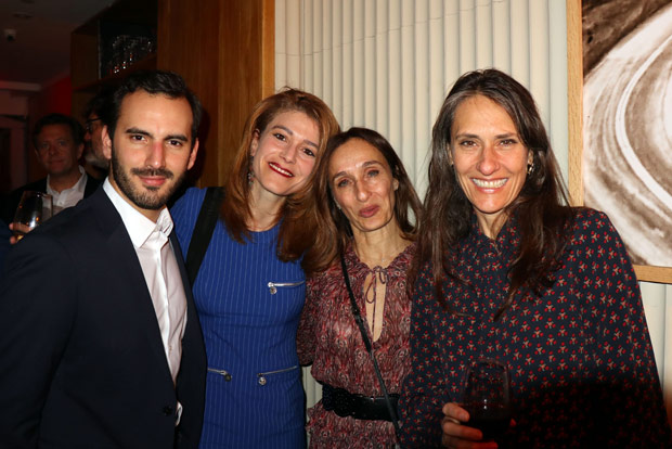From right: Stephanie-Julia Bargas with Friends. PHOTO: ETA PRESS