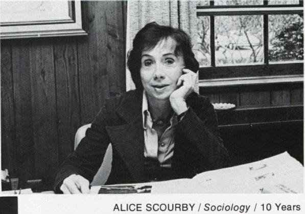 Professor Alice Scourby