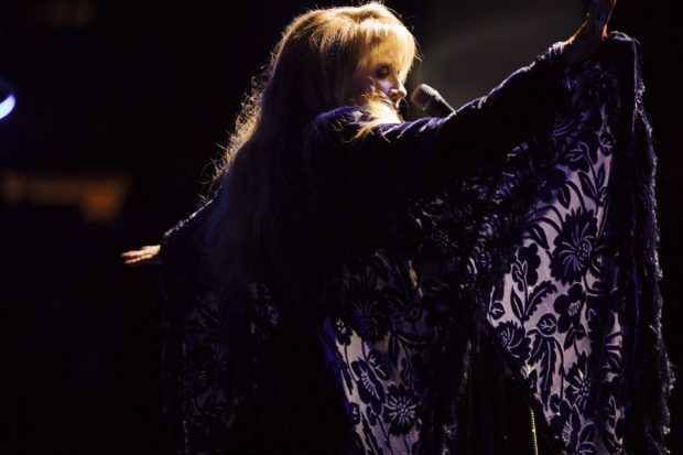 Stevie Nicks performing live. Photo: Justin Wysong