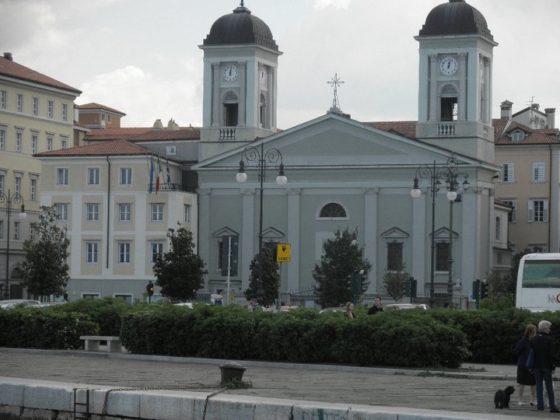 The San Nicola Greek Orthodox Church, Trieste Waterfront, built 1792; PHOTO: VILMA BILLINIS