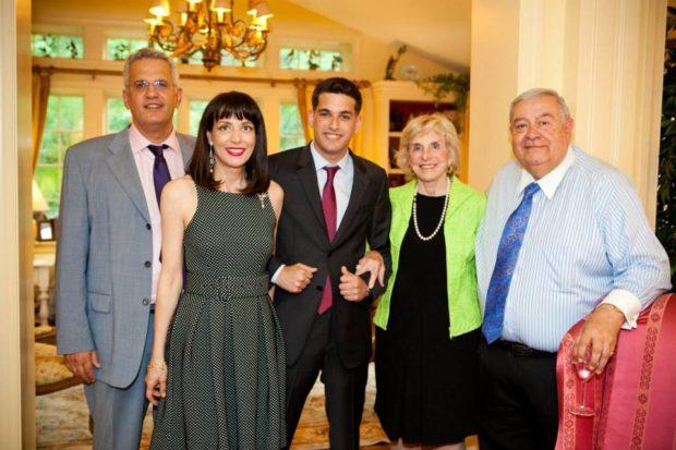 Christos & Kiki Petrocheilos, George Petrocheilos, Jayne Plank, Aris Melissaratos
