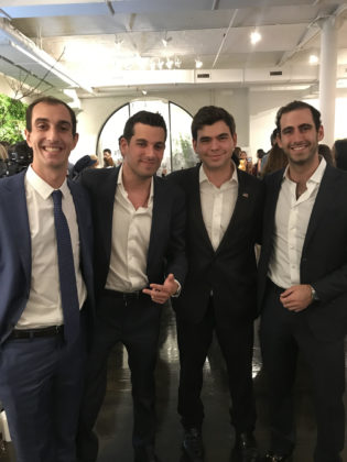 Anthony Liveris, George Petrocheilos, John Catsimatidis Jr., Diamantis Xylas
