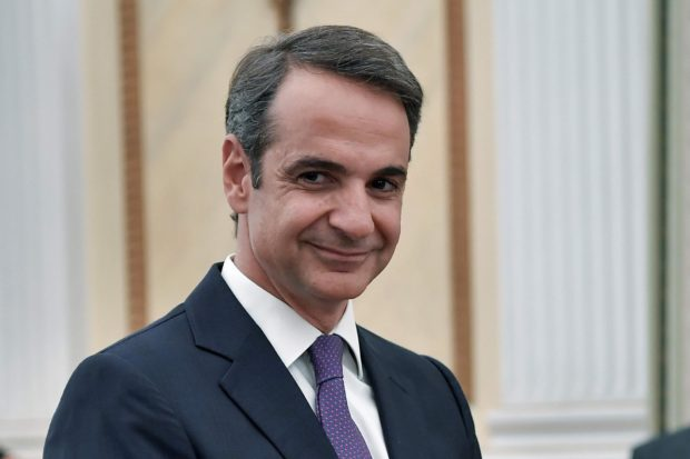 His Excellency Kyriakos Mitsotakis, Prime Minister of the Hellenic Republic