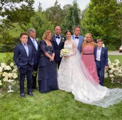 Family photo: from left, George Belesis, John & Maria Zoitas, George & Calliope Zoitas, Jimmy & Amy Belesis and John Belesis