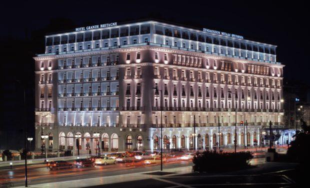 Hotel Grande Bretagne - Exterior